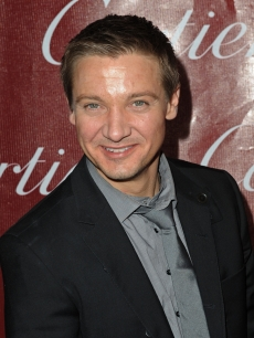 Jeremy Renner is spotted on the red carpet at the 2010 Palm Springs International Film Festival gala held at the Palm Springs Convention Center on January 5, 2010 in Palm Springs, California