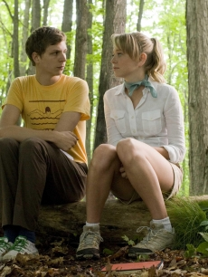 Michael Cera and Portia Doubleday in a scene from 'Youth In Revolt'