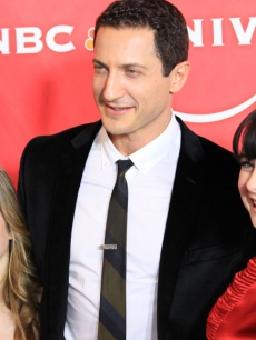 'Caprica's' Magda Apanowicz, Sasha Roiz and Alessandra Torresani at NBC's TCA party, Pasadena, Jan. 10, 2010