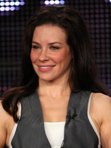Evangeline Lilly speaks onstage at the ABC &#8216;Lost&#8217; Q&amp;A portion of the 2010 Winter TCA Tour day 4 at the Langham Hotel, Pasadena, January 12, 2010