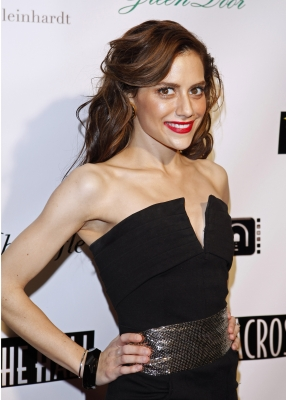 Brittany Murphy steps out at the 'Across The Hall' Los Angeles premiere on December 1, 2009