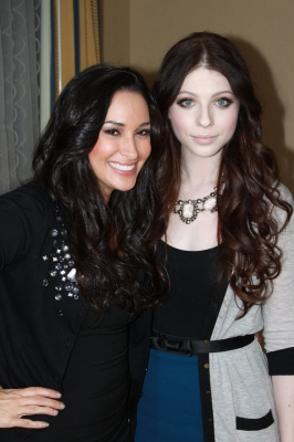 AccessHollywood.com's Laura Saltman and Michelle Trachtenberg of 'Mercy,' Pasadena, Jan. 10, 2010