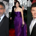 George Clooney/Sandra Bullock/Cory Monteith at the 2010 Golden Globes