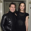 Tom Cruise and Katie Holmes step out at the NY Times Style Magazine's Golden Globe Awards Cocktail at Chateau Marmont on January 15, 2010 in Los Angeles, California