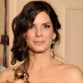2010 Golden Globes: Backstage With Sandra Bullock