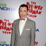 Paul Reubens arrives to the opening night of 'The Pee-Wee Herman Show' Los Angeles Opening Night at Club Nokia on January 20, 2010