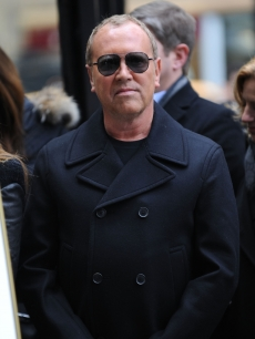 Michael Kors joins the &#8216;Project Runway&#8217; gang for a temporary street renaming of &#8216;Project Runway Avenue&#8217; in NYC on January 13, 2010
