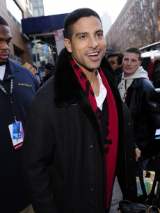 Former 'CSI: Miami' star Adam Rodriguez visits 'The Wendy Williams Show' taping at the Wendy Williams Studio, NYC, January 14, 2010