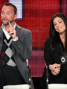 Clinton Kelly and Stacy London of &#8216;What Not To Wear&#8217; speak during the TLC portion of the 2010 Television Critics Association Press Tour at the Langham Hotel, Pasadena, January 14, 2010