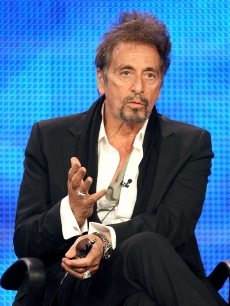Al Pacino of 'You Don't Know Jack' speaks during the HBO portion of the 2010 Television Critics Association Press Tour at the Langham Hotel, Pasadena, January 14, 2010