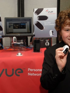 Nolan Gould is ready for action with his Vue By Avaak Personal Video Network at Access Hollywood's 4th Annual 'Stuff You Must…' Golden Globes Gifting Lounge at the Sofitel Hotel in LA on January 16, 2010