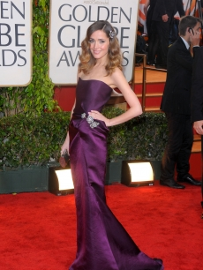 'Damages' star Rose Byrne steps out at the 67th Annual Golden Globe Awards held at The Beverly Hilton Hotel on January 17, 2010 in Beverly Hills, California