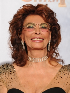 Sophia Loren poses in the press room at the 67th Annual Golden Globe Awards held at The Beverly Hilton Hotel on January 17, 2010 in Beverly Hills, California