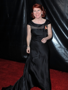 Kate Flannery steps out at NBC, Universal Pictures and Focus Features' post-Golden Globe Awards party at the Beverly Hilton Hotel in Beverly Hills, Calif., on January 17, 2010