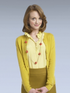 'Glee's' school counselor, Emma Pillsbury, played by actress Jayma Mays