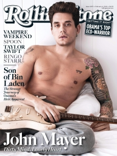 John Mayer on the cover of Rolling Stone