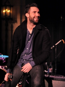 Maroon 5 singer Adam Levine performs at A Night to Benefit Haiti at The Roosevelt Hotel on January 20, 2010 in Hollywood, California