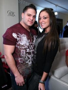 After swearing to never fall in love at the Jersey Shore, 'Jersey Shore' star Ronnie Magro couldn't help but fall under Sammi (Sweetheart) Giancola's spell.