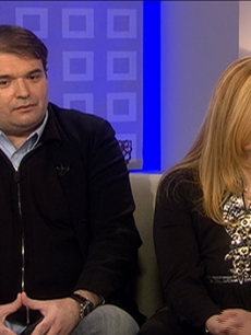 A grieving Simon Monjack and Sharon Murphy talk about Brittany Murphy's death on 'Today,' Jan. 21, 2010
