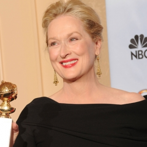2010 Golden Globes: Backstage With Meryl Streep