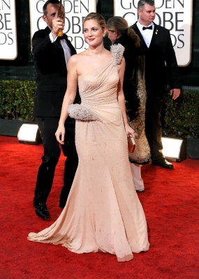 Drew Barrymore dazzles at the 67th Annual Golden Globe Awards held at The Beverly Hilton Hotel on January 17, 2010 in Beverly Hills, California