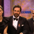 2010 Golden Globes Backstage: 'Mad Men' Cast On Their Win & Jon Hamm's Beard