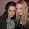 Kristen Stewart and Dakota Fanning pose at the Park City Museum during Sundance, Park City, Utah, January 24, 2010