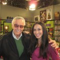 Stan Lee and Laura Saltman