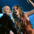 Melissa Etheridge & Joss Stone at the 47th Annual Grammys in LA, 2005