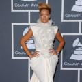 Rihanna arrives at the 52nd Annual Grammy Awards held at Staples Center on January 31, 2010 in Los Angeles, California