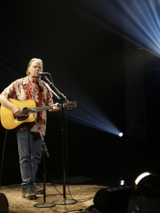 Neil Young performs on Conan O'Brien's final 'Tonight Show,' Los Angeles, Jan. 22, 2010