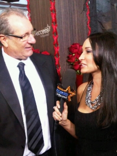 Access Hollywood.com's Laura Saltman chats with Ed O'Neill at the 16th Annual Screen Actors Guild Awards held at the Shrine Auditorium on January 23, 2010 in Los Angeles, California