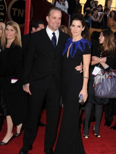 Jesse James and Sandra Bullock at the 16th Annual Screen Actors Guild Awards held at The Shrine Auditorium on January 23, 2010 in Los Angeles, California