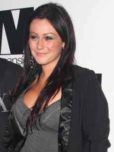 'Jersey Shore's' Jenni 'J-WOWW' Farley at Mansion nightclub on January 27, 2010 in Miami Beach, Florida