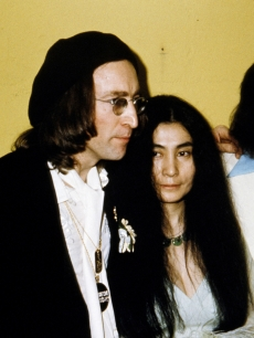 John Lennon & Yoko Ono at the 1975 Grammy Awards