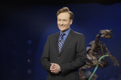 Conan O'Brien on his final night as 'The Tonight Show' host, LA, Jan. 22, 2010