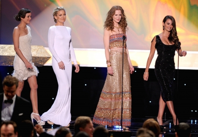 Marion Cotillard, Kate Hudson, Nicole Kidman and Penelope Cruz all look lovely at the 16th Annual Screen Actors Guild Awards held at the Shrine Auditorium on January 23, 2010 in Los Angeles, California