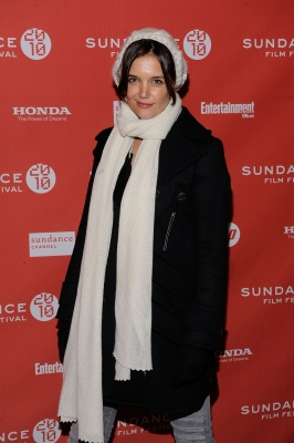 Katie Holmes attends the 'The Extra Man' premiere during the 2010 Sundance at Eccles Center Theatre on January 25, 2010 in Park City, Utah