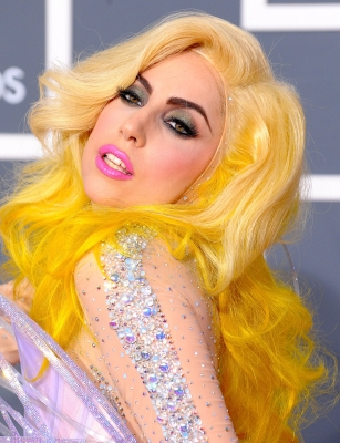 Lady Gaga arrives at the 52nd Annual Grammy Awards held at Staples Center on January 31, 2010 in Los Angeles, California