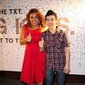 Former 'American Idol' stars Jordin Sparks and David Archuleta step out at the 3rd Annual Jordin Sparks Experience event in Miami Beach, Florida, on February 3, 2010
