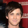 Logan Lerman promotes 'Percy Jackson And The Olympians: The Lightning Thief' at Borders Kips Bay on February 3, 2010 in New York City