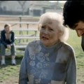 Betty White in the Snickers Super Bowl ad