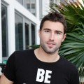 Brody Jenner relaxes at the Garnier Fructis Super Salon at Hotel 944 in Miami Beach, Fla., on February 6, 2010