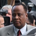 Dr. Conrad Murray arrives at the Airport Courthouse for his arraignment, Los Angeles, February 8, 2010