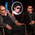 Quincy Jones and Lionel Richie (pictured with Michael Jackson) sit down with Access Hollywood on February 10, 2010