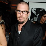 Alexander McQueen attends a private dinner hosted by editor of British Vogue, Alexandra Shulman in association with Net-A-Porter.com in honour of 25 years of London Fashion Week and Nick Knight, at Caprice on September 21, 2009 in London, England
