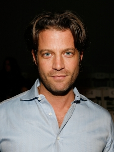 Designer Nate Berkus attends the Yigal Azrouel Womenswear Fall 2009 fashion show during Mercedes-Benz Fashion Week at The Promenade in Bryant Park, New York, February 13, 2009