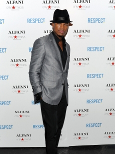 Ne-Yo attends the listening party for his new song and Alfani&#8217;s new line at Simyone Lounge in New York City on February 1, 2010