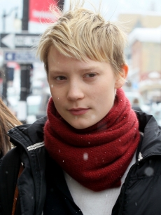 Mia Wasikowska attends the 2010 Sundance Film Festival, Park City, Utah, January 26, 2010