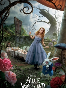 Mia Wasikowska as Alice in Disney's 'Alice in Wonderland'